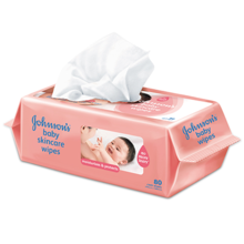 Johnson's® Baby Skincare Wipes (Fragrance Free)