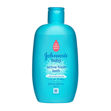 JOHNSON'S® active fresh bath