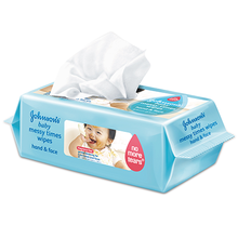 JOHNSON'S® messy times hand & face wipes