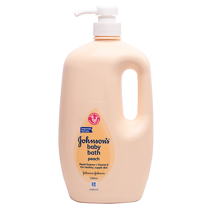 JOHNSON'S® baby lotion with vanilla oatmeal
